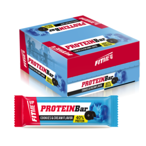 Protein Bar (40%) Cookies & Cream 60gr thessuperfoods.gr